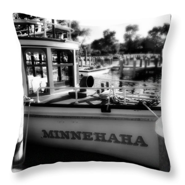 Excelsior 2 Throw Pillow by Perry Webster