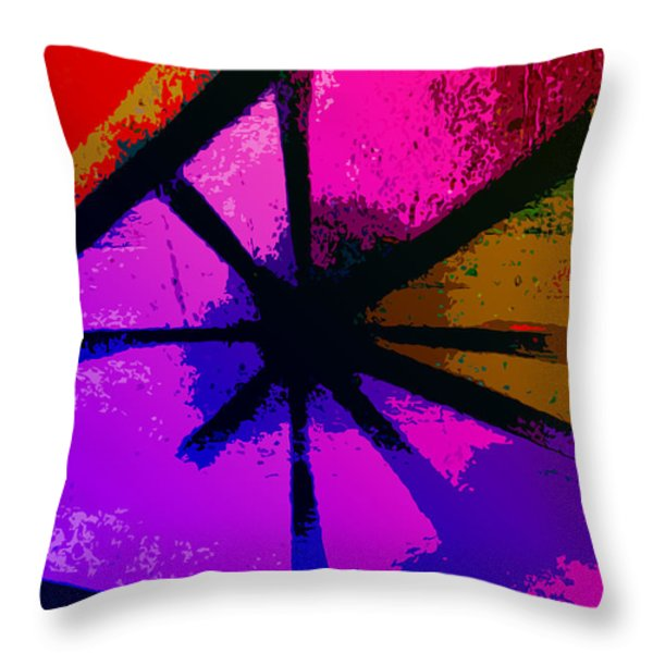 Eye Of The Beholder Throw Pillow by Bill Cannon