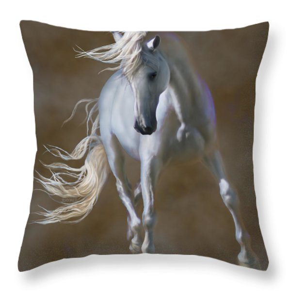 Fabuloso Throw Pillow by Barbara Hymer
