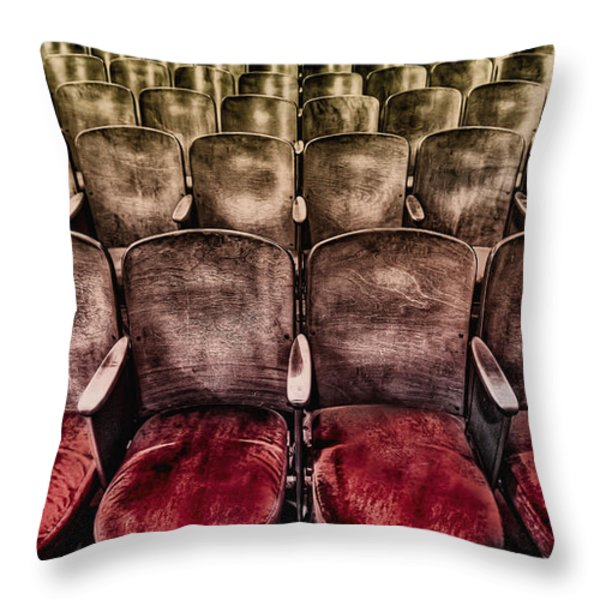 Face Your Audience Throw Pillow by Evelina Kremsdorf