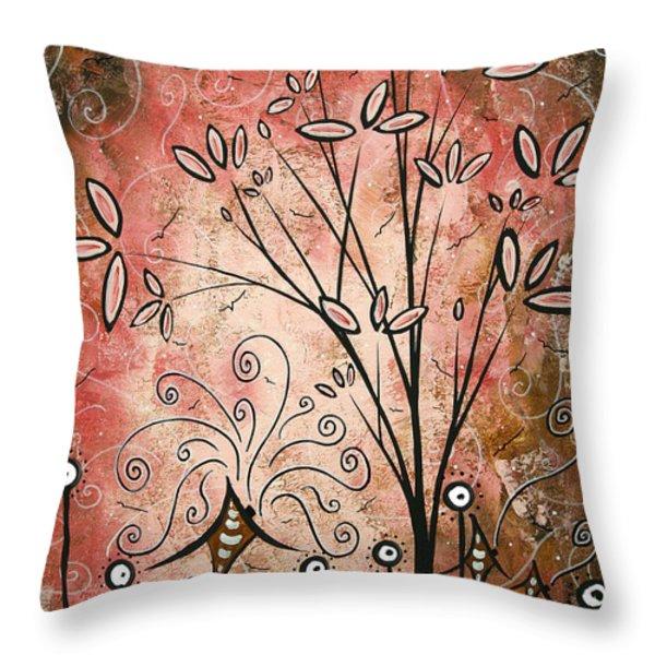 Far Far Away By Madart Throw Pillow by Megan Duncanson