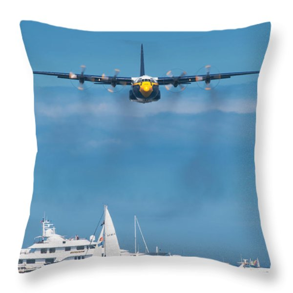Fat Albert Throw Pillow by Sebastian Musial