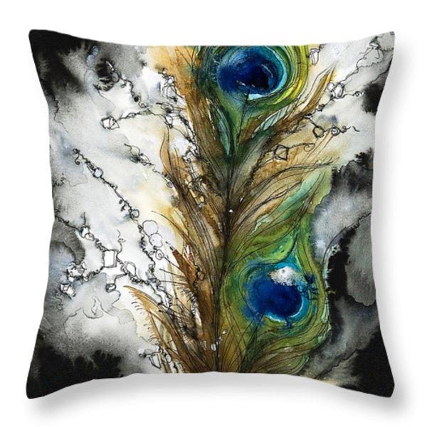 Female Throw Pillow by Tara Thelen - Printscapes