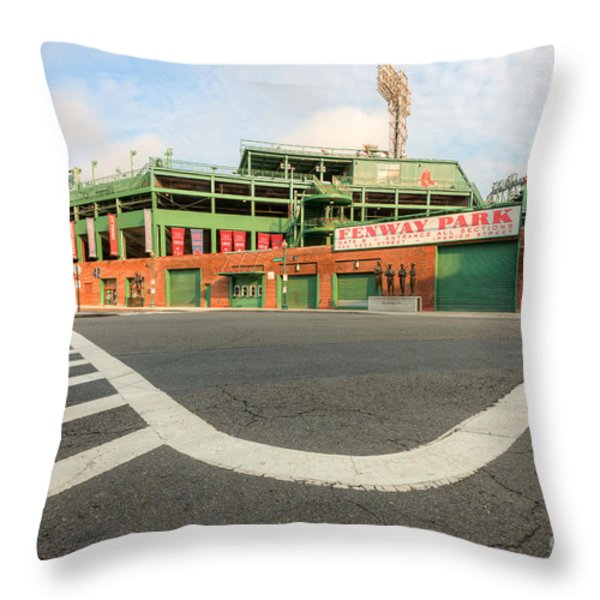 Fenway Park III Throw Pillow by Clarence Holmes