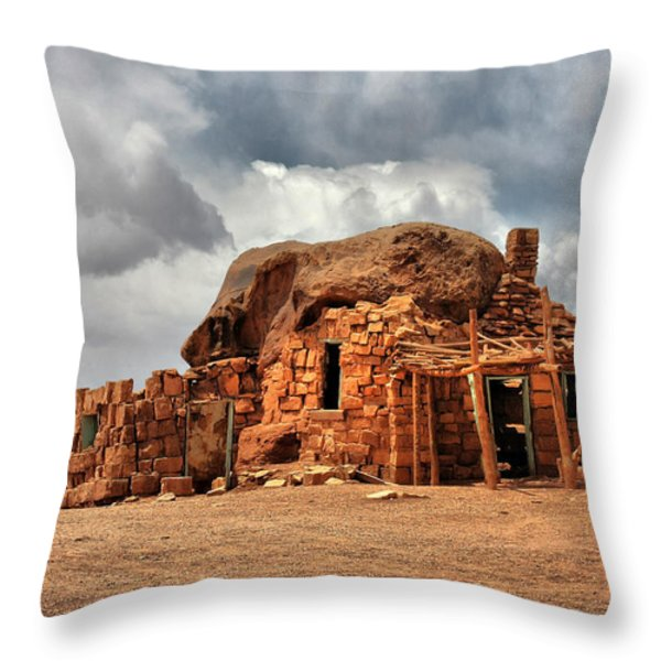 Finally we found a new home Throw Pillow by Christine Till
