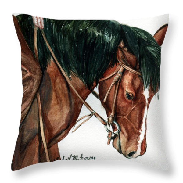 Fine Tuning Throw Pillow by Linda L Martin