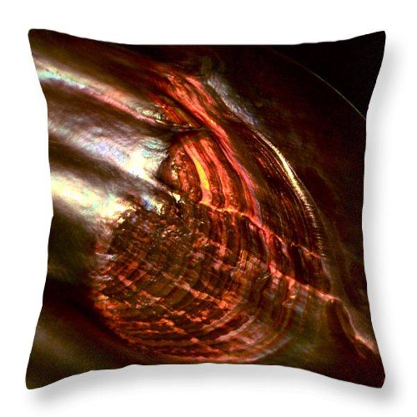 Firestorm Throw Pillow by Rona Black