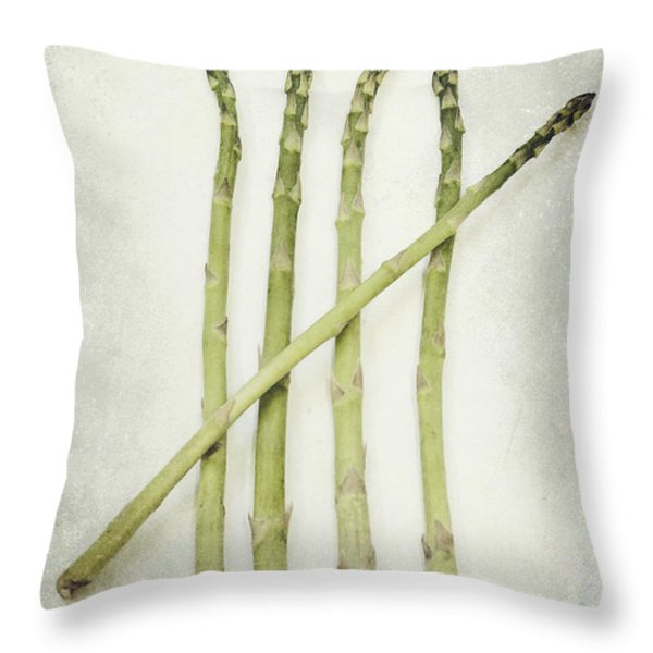 Five Throw Pillow by Priska Wettstein