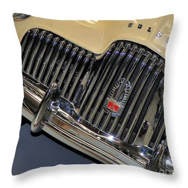FJ Holden - Front end - grill Throw Pillow by Kaye Menner