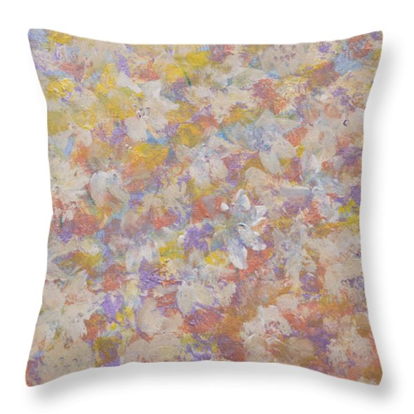 Flora' Romantica Throw Pillow by Don  Wright