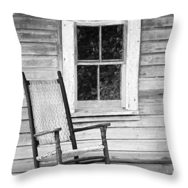 Florida Cracker House Throw Pillow by Patrick M Lynch