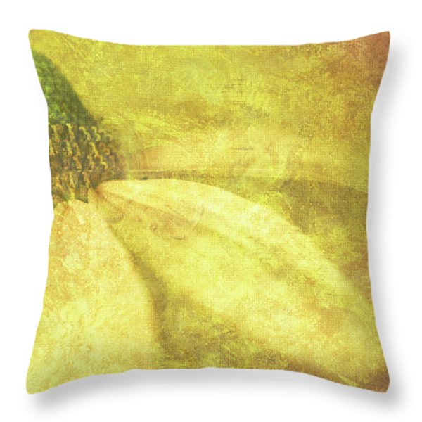 Flower Magnifico Throw Pillow by JQ Licensing