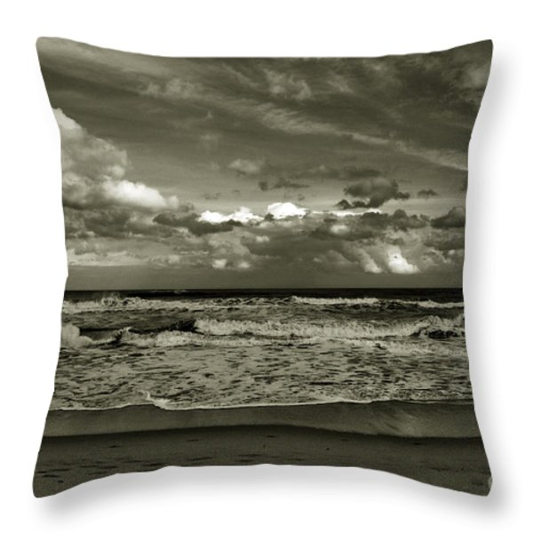 For Ever and Ever Throw Pillow by Susanne Van Hulst