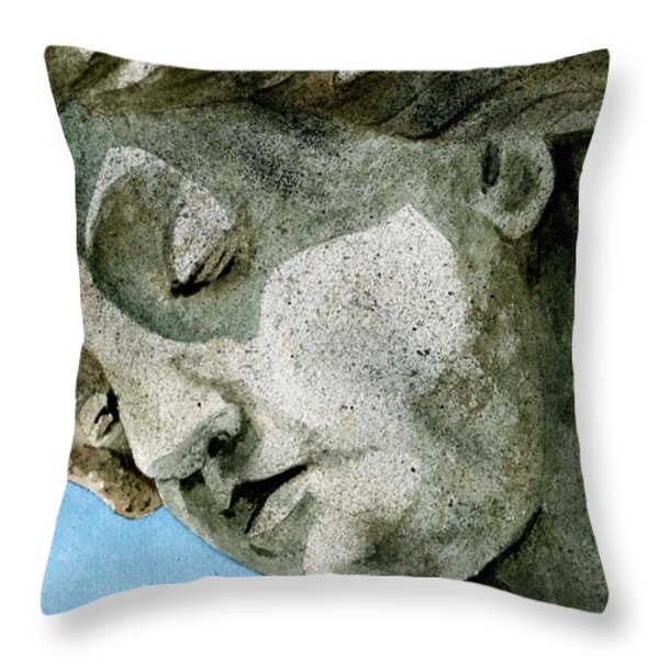 Forever Yours Throw Pillow by Brenda Owen