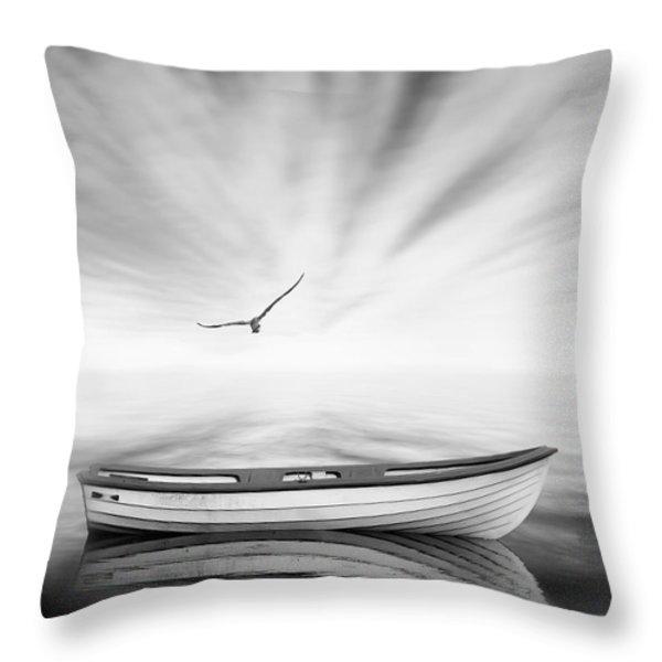 Forgotten Throw Pillow by Photodream Art