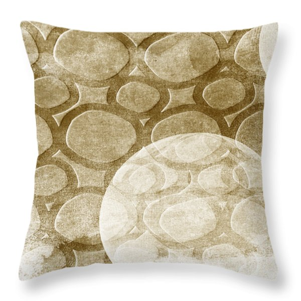 Formed In Fall Throw Pillow by Angelina Vick