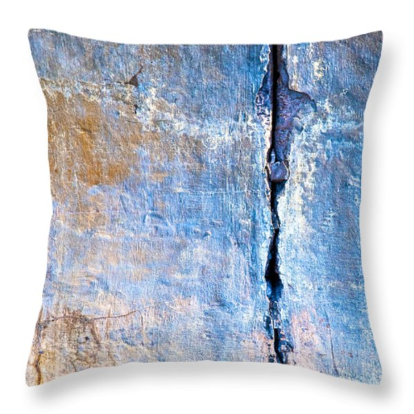 Foundation Five Throw Pillow by Bob Orsillo