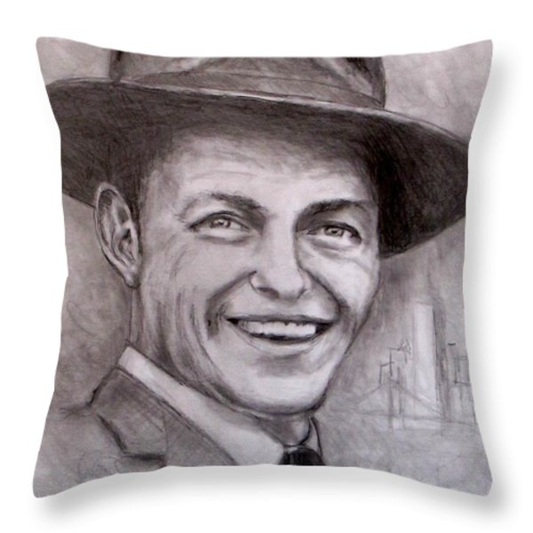Frank Throw Pillow by Jack Skinner