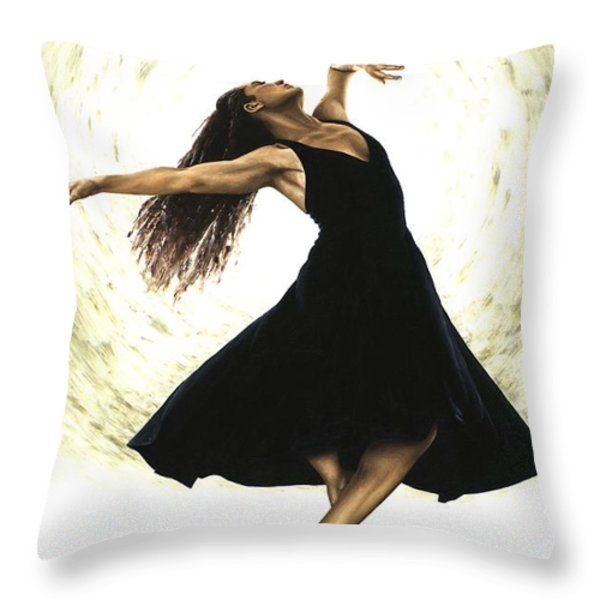 Free Spirit Throw Pillow by Richard Young