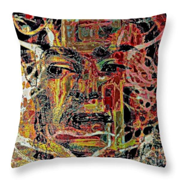 Frida Throw Pillow by WBK