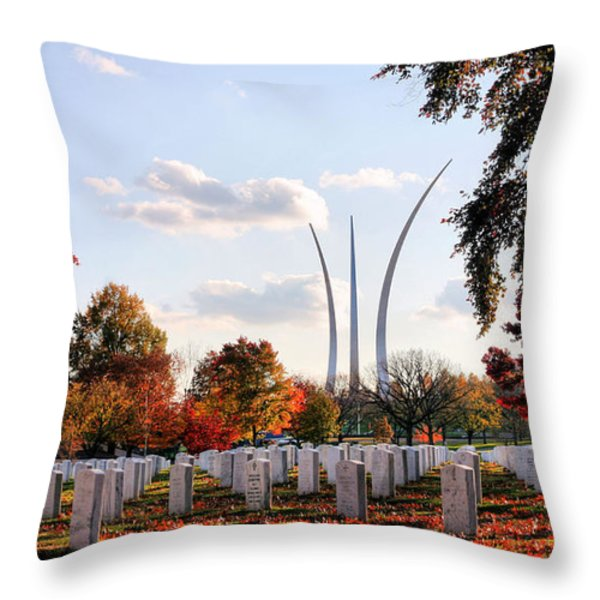 From Arlington Throw Pillow by JC Findley
