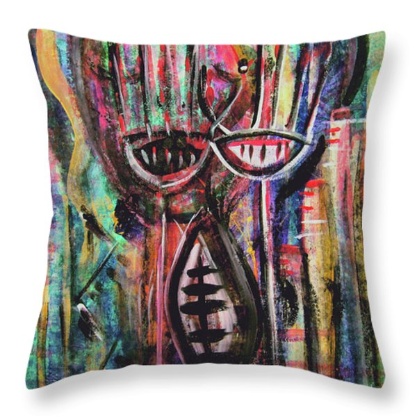 FROM DEEP WITHIN Throw Pillow by Mimulux patricia no