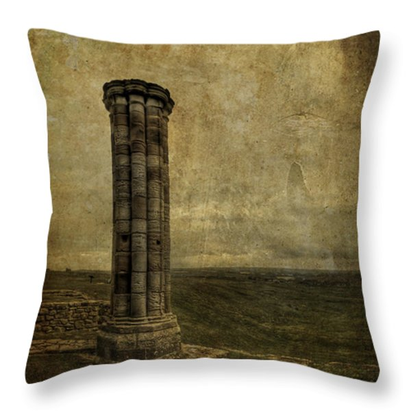 From The Ruins Of A Fallen Empire Throw Pillow by Evelina Kremsdorf