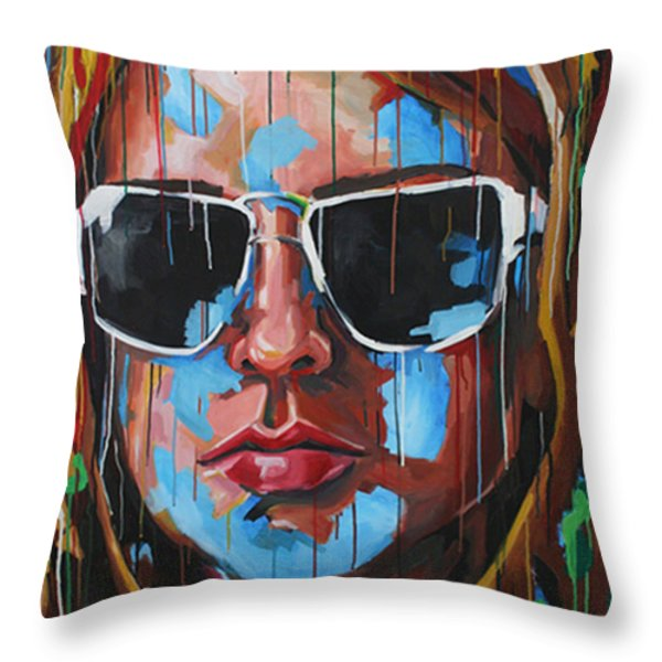 Future So Bright Throw Pillow by Julia Pappas