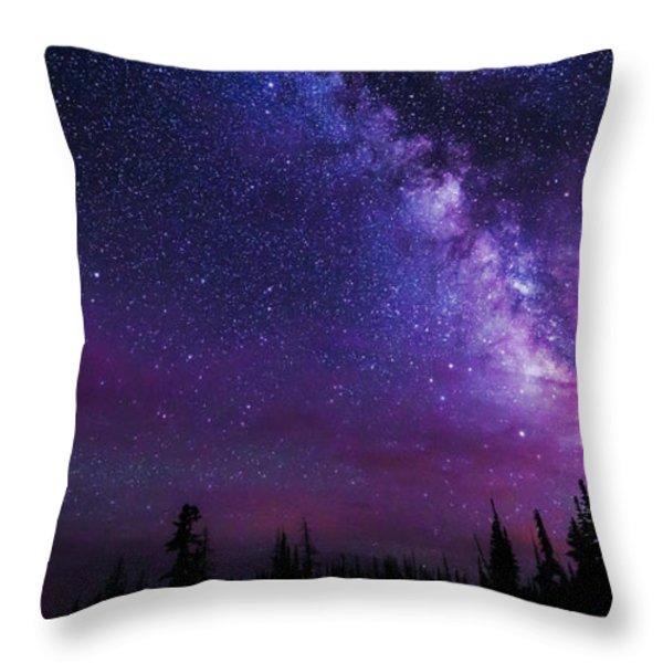 Gaze Throw Pillow by Chad Dutson