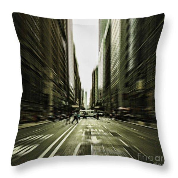 Gelati Rush Throw Pillow by Andrew Paranavitana