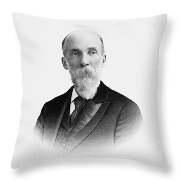 General Joe Wheeler Throw Pillow by War Is Hell Store