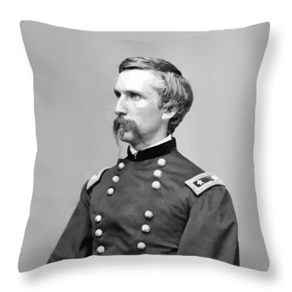General Joshua Lawrence Chamberlain Throw Pillow by War Is Hell Store
