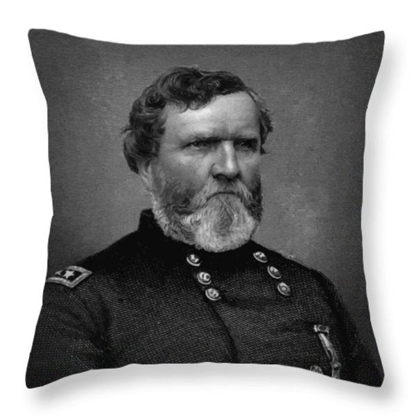 General Thomas Throw Pillow by War Is Hell Store