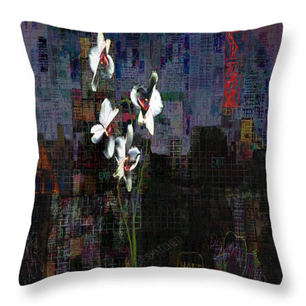 Genetic Memory  Throw Pillow by Andy  Mercer
