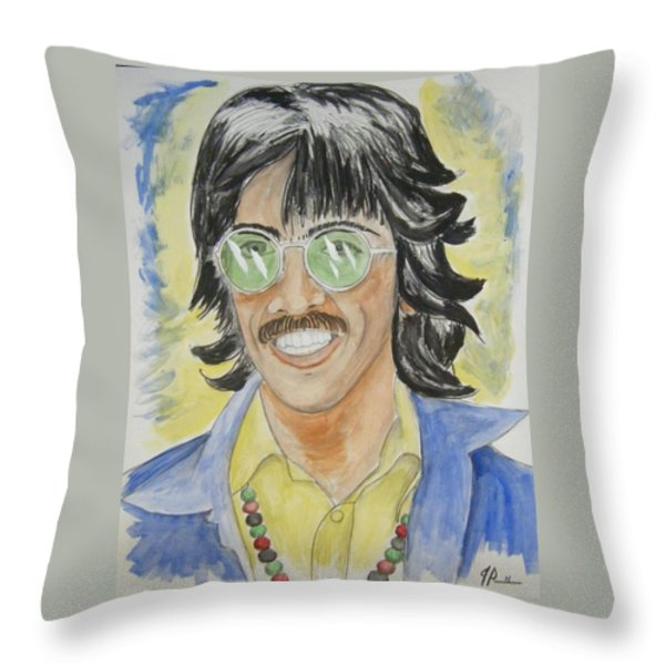 George Throw Pillow by Joseph Papale
