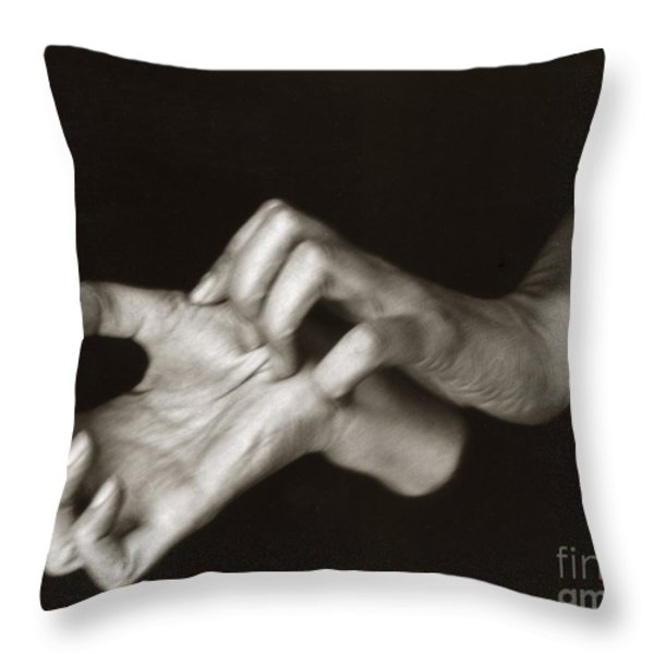 Georgia Okeeffe (1887-1986) Throw Pillow by Granger