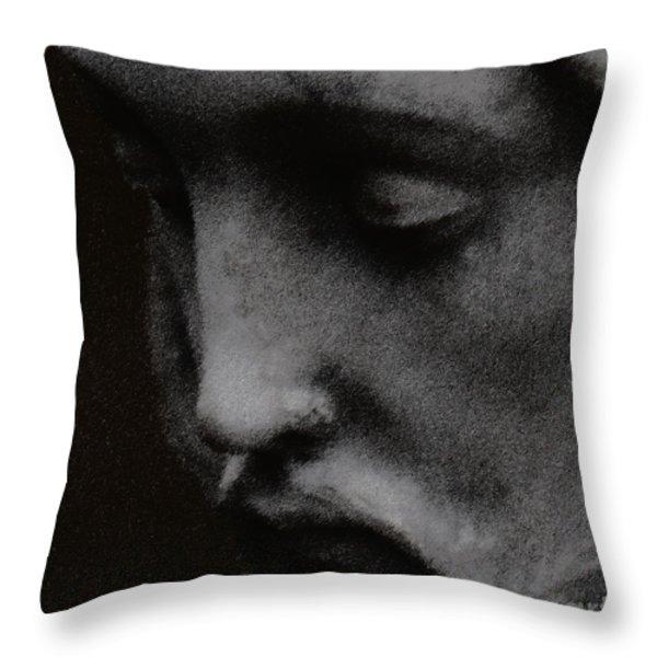 Gethsemane Throw Pillow by Linda Knorr Shafer