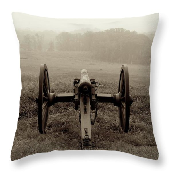 Gettysburg Throw Pillow by Sean Cupp