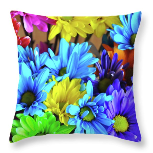 Giggle Patch Throw Pillow by JAMART Photography