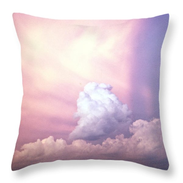 Glories of Heaven Throw Pillow by Douglas Barnett