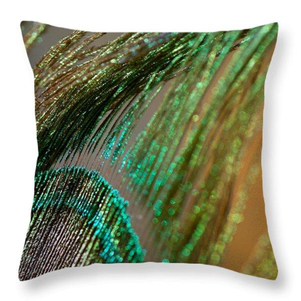 Glory Throw Pillow by Lisa Knechtel