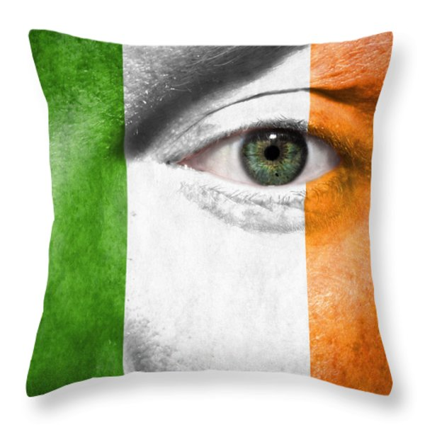 Go Ireland Throw Pillow by Semmick Photo