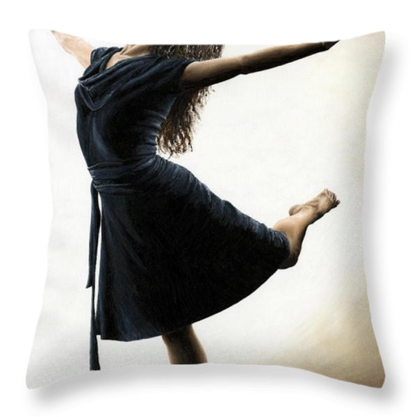 Graceful Enlightenment Throw Pillow by Richard Young