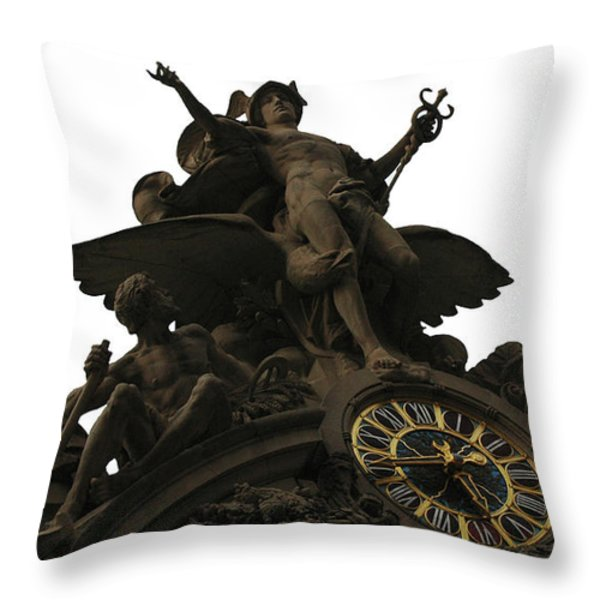 Grand Central Throw Pillow by adSpice Studios