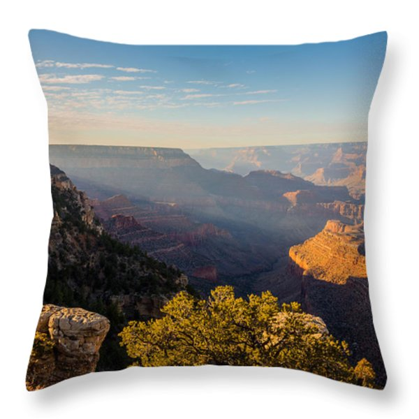 Grandview Sunset - Grand Canyon National Park - Arizona Throw Pillow by Brian Harig