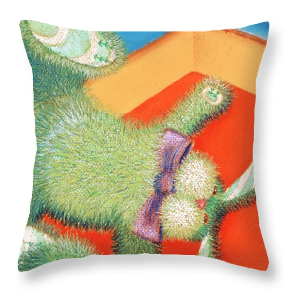 Grounded Throw Pillow by Tracy L Teeter
