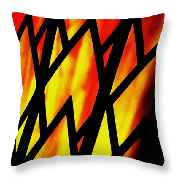 Gypsy Throw Pillow by Molly McPherson