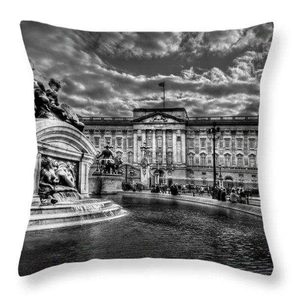 Hail To Majesty Throw Pillow by Evelina Kremsdorf
