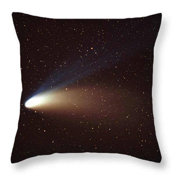 Hale-bopp Comet Throw Pillow by Ira Meyer