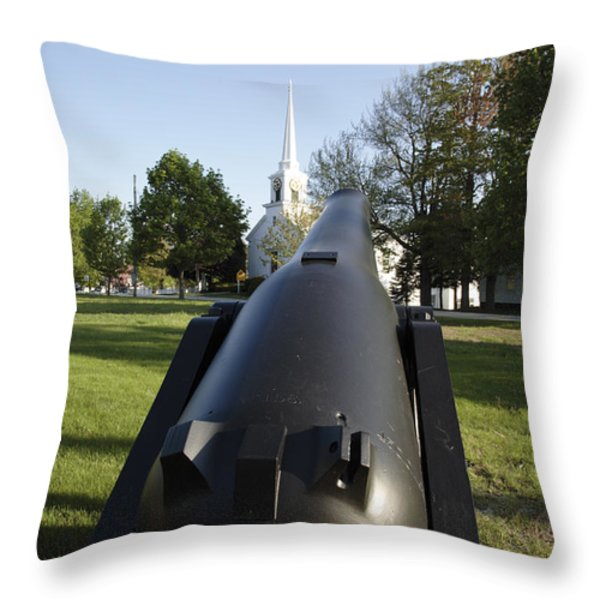 Hampton Falls New Hampshire USA Throw Pillow by Erin Paul Donovan